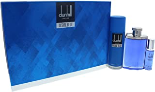 Dunhill Desire Blue Eau De Toillete + Eau De Toillete + Body Spray Set for Men, 325 ml - Pack of 1