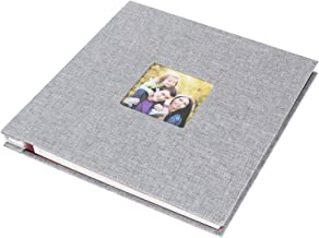 Album Album d'enregistrement auto-adhésif Album photo Album Photo en lin artisanat cadeaux de Saint-Valentin pour annivers...