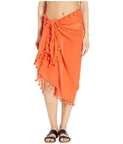 Seafolly Cotton Gauze Sarong (Tangelo) Women