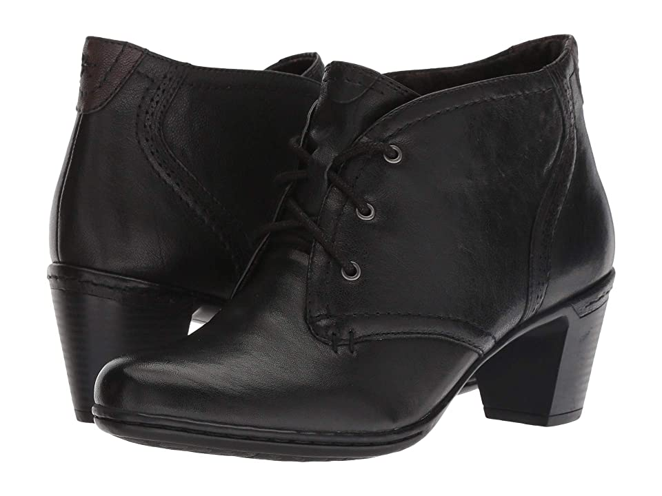 Rockport Cobb Hill Collection Cobb Hill Rashel Chukka (Black Leather) Women