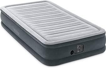 Intex Comfort Dura-Beam Colchón de Aire con Terciopelo, con Bomba eléctrica Interna, 33 cm de Altura