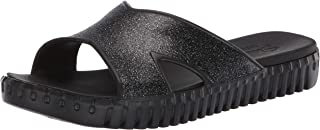 Skechers SEPULVEDA - Glitter Cross Strap Slide with Luxe Foam womens Sandal