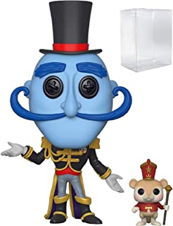 Funko Pop! Coraline - Mr. Bobinsky with Mouse Vinyl Figure (Bundled with Pop Box Protector Case)