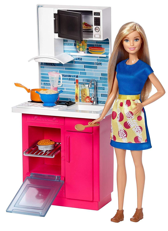 cucina giocattolo barbie