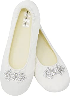Bridal Slippers, Comfortable Wedding Shoes for Dancing.