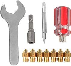 3D Printer MK8 Nozzles CR-10 Nozzle + 4 DIY Tools for 3D Printer Nozzle Change Replacement