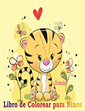 Animales Libro de Colorear para Niños: Libro de colorare para niños y niñas con 100 motivos de animales - Relajantes Libros Para Colorear Para Niños De 2-4, 3-6 Años - hipopótamo,serpiente,conejo,oso