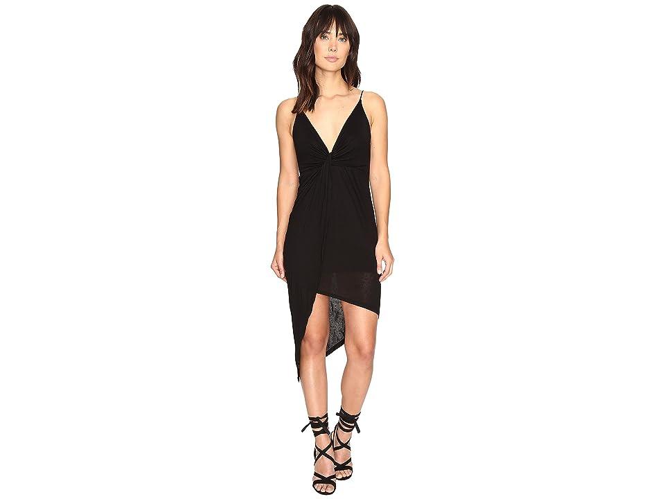 Culture Phit Augustina Spaghetti Strap Dress (Black) Women