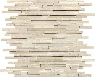 Dal-Tile M72238RANDMS1P Marble Tile Crema MARFIL Classico HONED/Polished/Split x 6 1/2