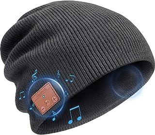 Beanie Hat Bluetooth Headphones, Wireless V 5.0 Knit Music Beanie Unisex, Bluetooth Cap Built-in HD Stereo Speakers, Chris...