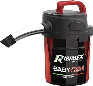 RIBIMEX PRCEN018, Aspirateur à Cendres électrique, Métal, Aspiracenere Elettrico Babycen Aspirazione Potent, 4 L