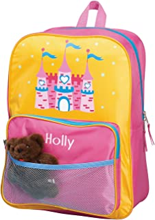 """Personalized Princess Backpack with Name, Zip Closure, Adjustable Straps, 16 ½"""""""