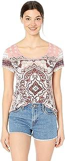 Lucky Brand womens PERSIAN CARPET TEE T-Shirt