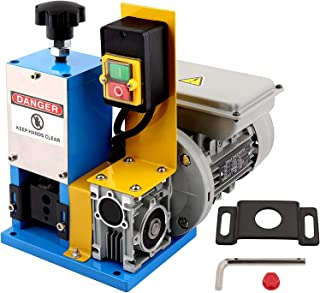 """Automatic Electric Wire Stripping Machine 0.06""""-0.98"""" (1.5 mm - 25mm) Cable Wire Stripper Machine Channel Portable Blue Wi..."""