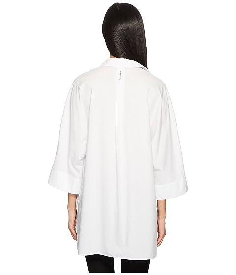 3 camiseta Neighty manga de Up 4 Button blanca Sport ESCADA 1n7xgn