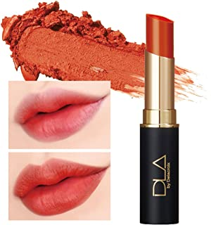 DLA Power Matte Lipstick 4.5g #1 Peach Caramel - High Adhesive Thin Layer Fitting Melting Matte Lipstick, Vivid Color with Single Touch