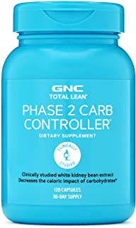 GNC Total Lean Phase 2 Carb Controller, 120 Capsules