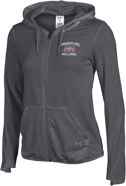 Under Armour NCAA Womens NCAA Womens Terry Back Full-Zip Hood
