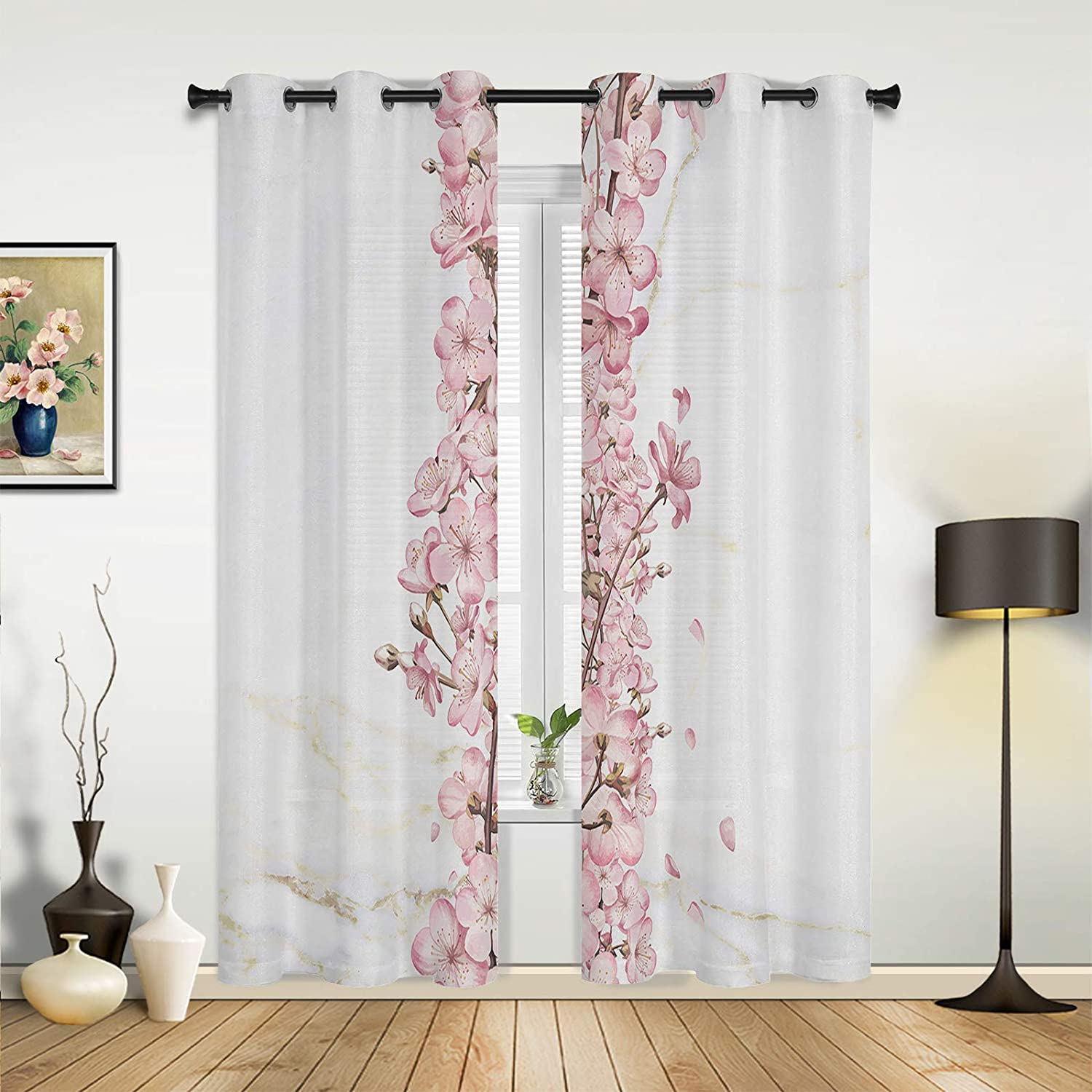 Beauty Decor Window Recommended Sheer Curtains Brand Cheap Sale Venue Bedroom for Room Living Pink