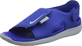 Nike Australia Sunray Adjust 5 Boys Sandals, Game Royal/Wolf Grey