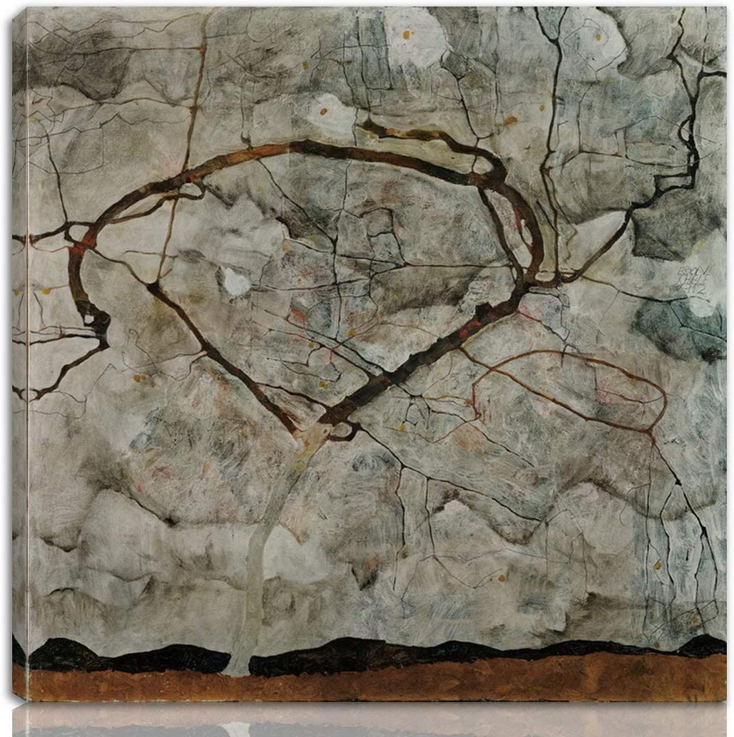 Limited Special Price Berkin Arts Egon Schiele Stretched On Print Canvas-Famous Giclee Spasm price