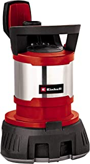Einhell GE-DP 7330 LL ECO - Bomba de aguas sucias (730W, capacidad de 16500 l/h, profundidad max. de inversión 7m, conexión de manguera 47.8mm, cuerpos extraños hasta 10 mm, interruptor de flotación)
