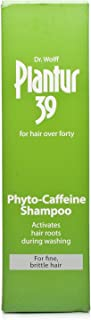 Dr Wolff Plantur 39 Caffeine Shampoo For Fine/Brittle Hair 250ml by Dr Dry (6 Pack)