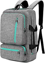 SOCKO 17 Inch Laptop Backpack Convertible Backpack Travel Computer Bag Hiking Knapsack Rucksack College Shoulder Back Pack...