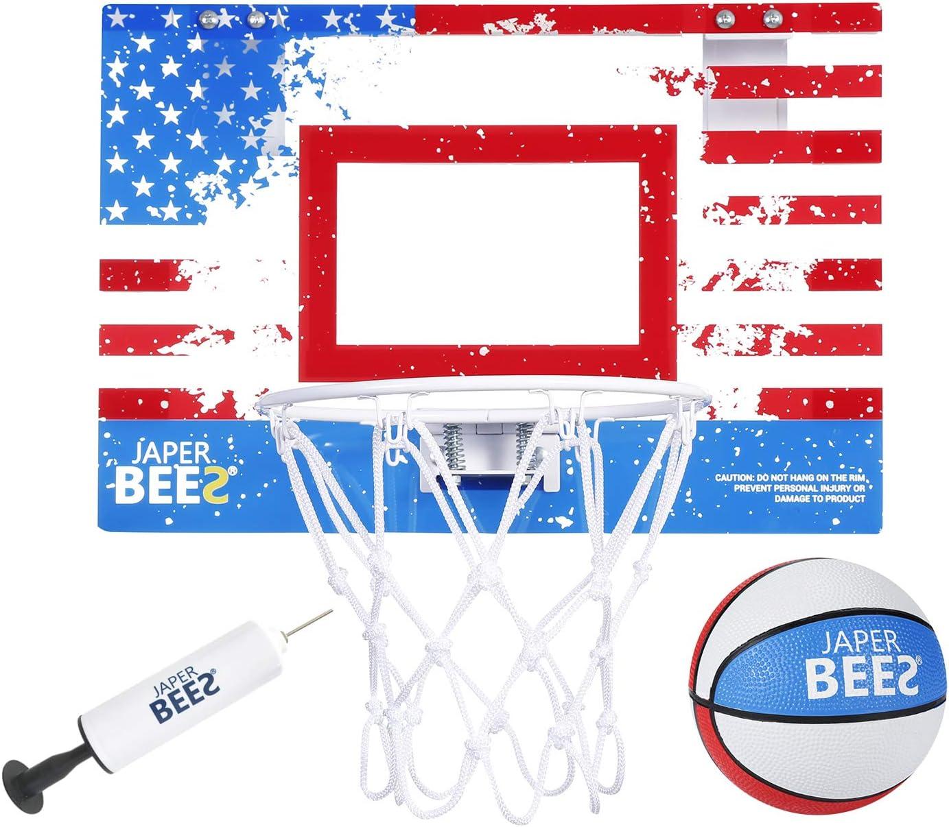 JAPER BEES Pro Mini Basketball Ranking TOP11 Hoop Over Topics on TV Mount The Door Wall I