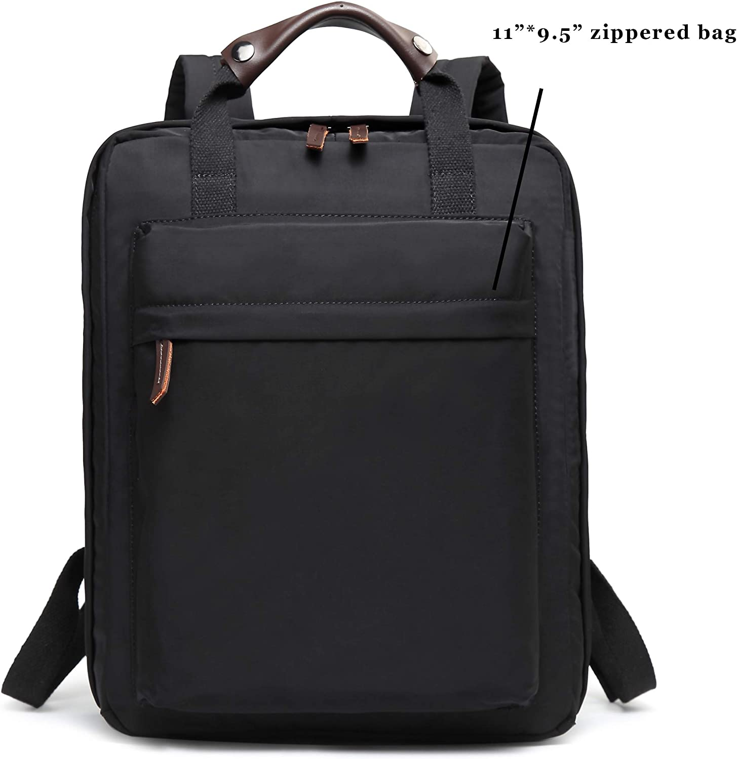 Professional Business Travel Light-weight Anti-theft Backpack Black