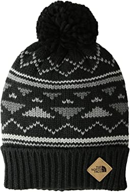 The north face village ushanka hat tnf black tnf black  5d031de9db67