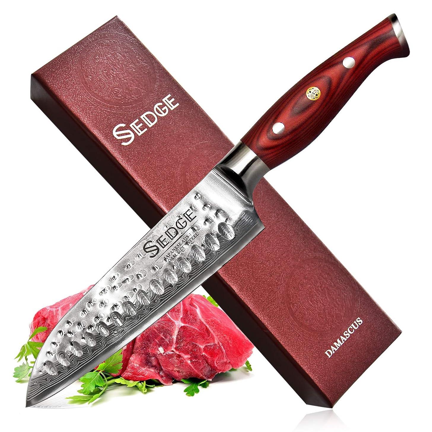 SEDGE Santoku Knife 7