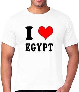 FMstyles - I Love Egypt Unisex Tshirt - FMS155