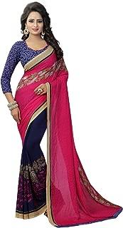 Peegli Saree Women's Georgette Saree Casual Sari for All Occasions