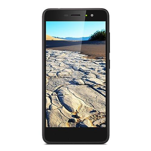 Gigaset GS170 Smartphone (12,7 cm (5 Zoll) Touch-Display, 16 GB Speicher, Android 7.0) schwarz