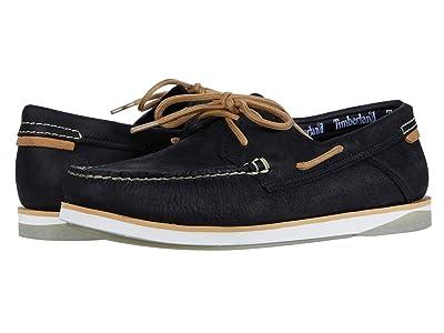 Timberland Atlantis Break Boat Shoe (Black Full Grain) Men