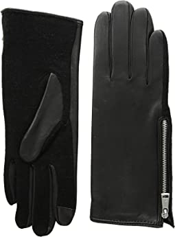 Perforated Gusset Touch Gloves
