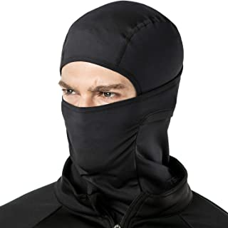 TSLA Thermal Winter Balaclava Face Mask, UV Protection Fleece Lined Ski Mask, Lightweight Windproof Neck Gaiter