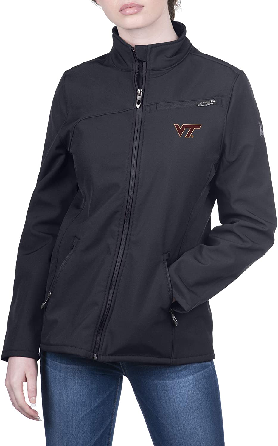 Spyder Women's Transport Full Some reservation Zip Gameday Jacket Outlet sale feature Soft Shell
