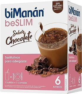 comprar comparacion biManán - beSLIM - Sustitutivos para Adelgazar - Batido Chocolate - 6uds 300 gr