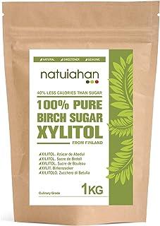 Natuiahan Xilitol 1KG. Azúcar de Abedul de Finlandia.