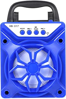 Portable BT Outdoor Speaker Support TF Card Square Dance Audio Blue