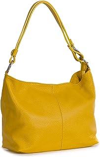 LiaTalia - Emmy - Borsa come borsetta a mano/a tracolla, multiuso e pratica, vera pelle italiana di alta qualità, fatta in...