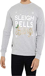 NOROZE Men's Christmas Sweatshirt Funny Pullover Printed Party Tops Xmas Jumper Gifts for Men