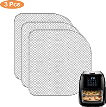 Replacement Dehydrator Racks for 6qt Chefman, Caynel and Power Air Fryer Oven, Dehydrate Fruits and Meats, Air Flow Racks, Removable trays, Air Fryer Oven Accessories (3 Pieces)