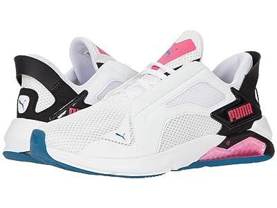 PUMA LQDCell Method (Puma White/Puma Black/Luminous Pink) Women