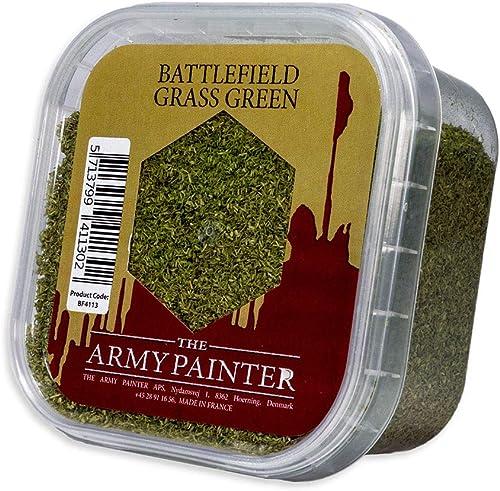 The Army Painter | Grass Green | Pour un Résultat Réaliste d'Herbe Verte ou de Mousse | Décors et Paysages