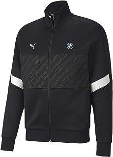 Puma Erkek BMW MMS T7 Track Jacket Black Sweatshirt