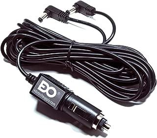 EDO Tech 11' Long Cable Car Charger Adapter for RCA DRC6272 DRC6272E DRC97283 DRC6296, Mustek PD77B DP77A