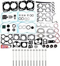 ECCPP Engine Head Gasket Set w/Bolts fit 04-11 Saab 9-2X SOHC Subaru Baja SOHC Subaru Forester SOHC Subaru Impreza SOHC Subaru Outback SOHC Compatible fit for Gaskets Kit
